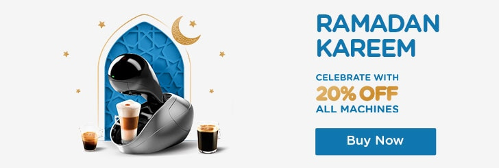 Ramadan 20% off machines