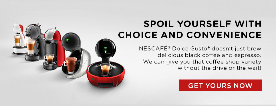 View  NESCAFÉ® Dolce Gusto® coffee machines