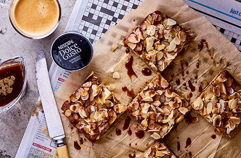 Banana Coffee Cake Slice Recipe | NESCAFÉ® Dolce Gusto®